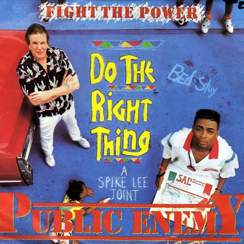 Public enemy's 'fight the power' sample of james brown's 'funky.